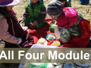 CL3Pkg-Democratic Spaces for Early Learning - Four Module Bundle